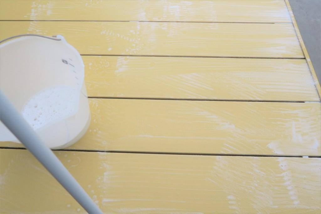 茂木流!ウッドデッキの掃除方法